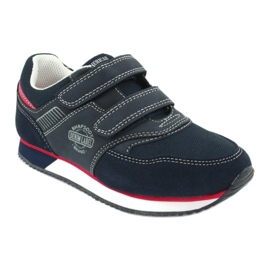 American Club Sport shoes American navy blue RH20 red 1