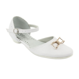 Pumps communion ballerinas Miko 707 white 1