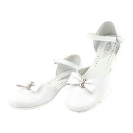 Courtesy ballerinas Communion Miko 671 white 3