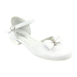 Courtesy ballerinas Communion Miko 671 white 1