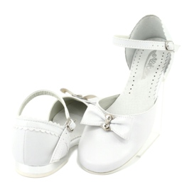 Courtesy ballerinas Communion Miko 671 white 4