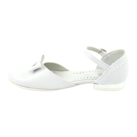 Courtesy ballerinas Communion Miko 671 white 2