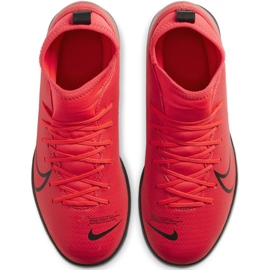Nike Mercurial Superfly 7 Club Ic Jr AT8153-606 indoor shoes multicolored red 1