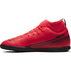 Nike Mercurial Superfly 7 Club Ic Jr AT8153-606 indoor shoes multicolored red 2