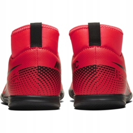 Nike Mercurial Superfly 7 Club Ic Jr AT8153-606 indoor shoes multicolored red 4