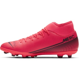 Nike Mercurial Superfly 7 Club FG / MG M AT7949-606 football shoes red red 2
