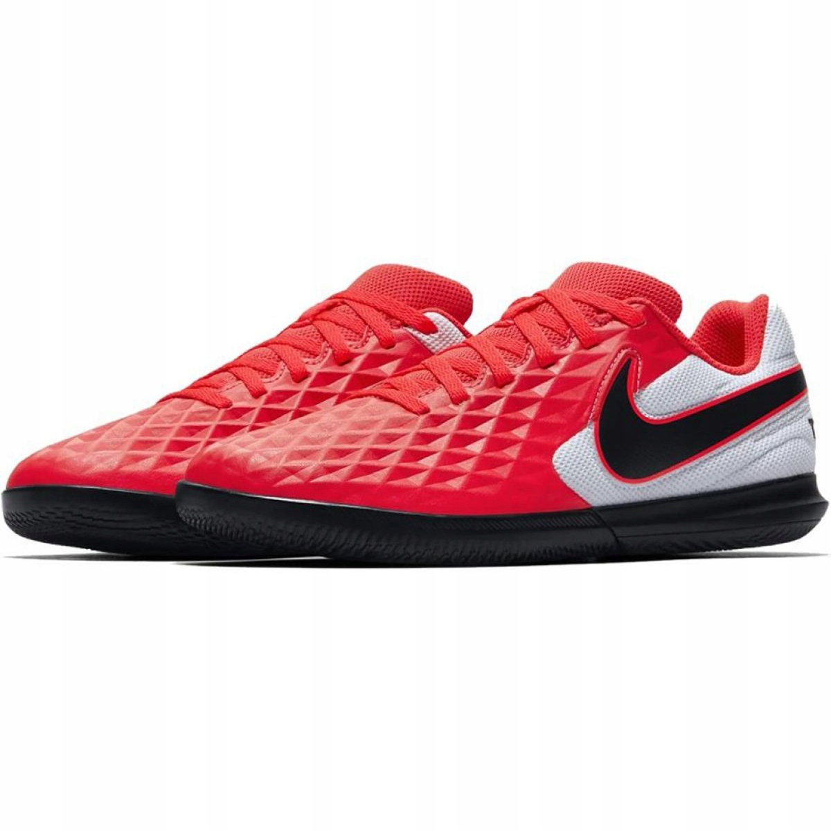 servilleta Envolver Seguro  Nike Tiempo Legend 8 Club Ic Jr AT5882-606 indoor shoes red multicolored -  ButyModne.pl