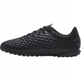 Nike Tiempo Legend 8 Club Tf M AT6109-010 football shoes black black 1