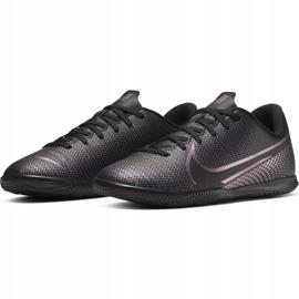 Nike Mercurial Vapor 13 Club Ic Jr AT8169-010 indoor shoes black black 5