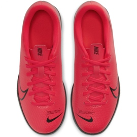 Nike Mercurial Vapor 13 Club Ic Jr AT8169-606 indoor shoes red red 1