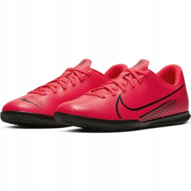 Nike Mercurial Vapor 13 Club Ic Jr AT8169-606 indoor shoes red red 5