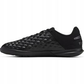 Nike Tiempo Legend 8 Club Ic M AT6110-010 indoor shoes black black 2