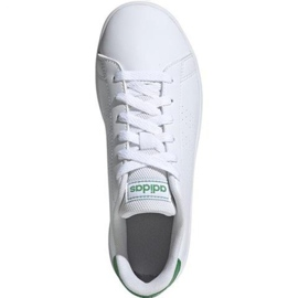Adidas Advantage K Jr EF0213 shoes white 2