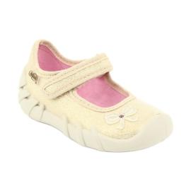 Befado children's shoes 109P152 yellow 3