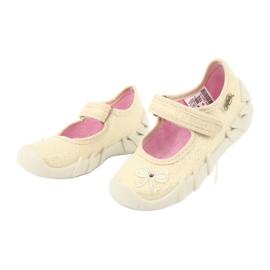 Befado children's shoes 109P152 yellow 5