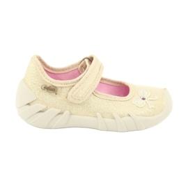 Befado children's shoes 109P152 yellow 2