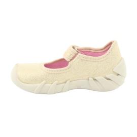Befado children's shoes 109P152 yellow 4