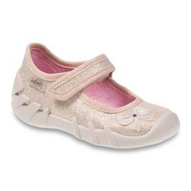 Befado children's shoes 109P152 yellow 1