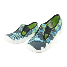 Befado children's shoes 290X192 blue grey green 3