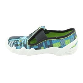 Befado children's shoes 290X192 blue grey green 2