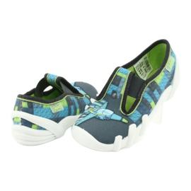 Befado children's shoes 290X192 blue grey green 4