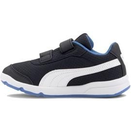 Shoes Puma Stepfleex 2 Mesh Ve V Ps Jr 192524 10 white black blue 2