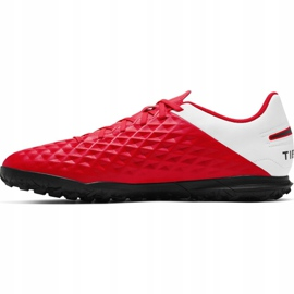 Nike Tiempo Legend 8 Club Tf M AT6109-606 football shoes red red 1