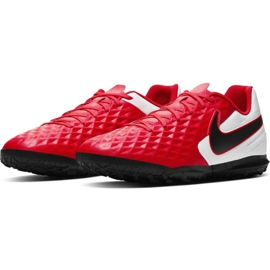 Nike Tiempo Legend 8 Club Tf M AT6109-606 football shoes red red 3
