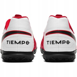 Nike Tiempo Legend 8 Club Tf M AT6109-606 football shoes red red 4