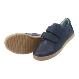 Boys' Velcro shoes Mazurek 1235 navy blue 5