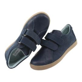 Boys' Velcro shoes Mazurek 1235 navy blue 6