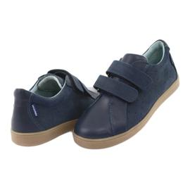 Boys' Velcro shoes Mazurek 1235 navy blue 4