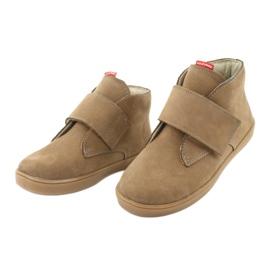 Velcro shoes Mazurek 1101 dark beige 3