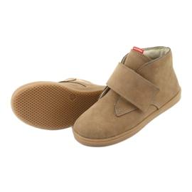 Velcro shoes Mazurek 1101 dark beige 5