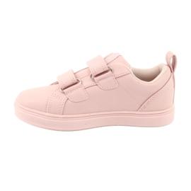 American Club Velcro sneakers flowers ES11 red violet blue pink 2