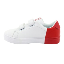 American Club ES05 white and red sports sneakers black 2