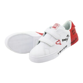 American Club ES05 white and red sports sneakers black 5
