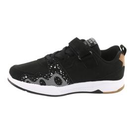 American club children's sports shoes BS03 black white 2