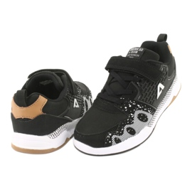 American club children's sports shoes BS03 black white 4