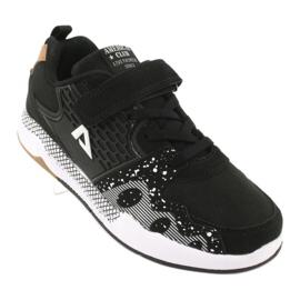 American club children's sports shoes BS03 black white 1