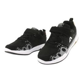 American club children's sports shoes BS03 black white 3