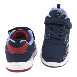 American club children's sports shoes BS03 navy blue white 4