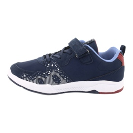 American club children's sports shoes BS03 navy blue white 2