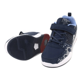 American club children's sports shoes BS03 navy blue white 5