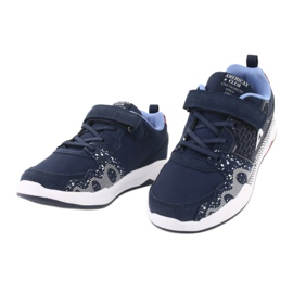 American club children's sports shoes BS03 navy blue white 3
