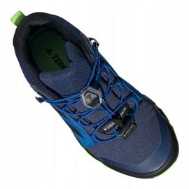 Adidas Terrex Mid Gtx Jr EF2248 shoes navy blue multicolored 5