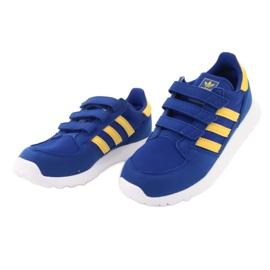 Adidas Originals Forest Grove Cf Jr CG6804 blue yellow 3