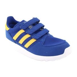 Adidas Originals Forest Grove Cf Jr CG6804 blue yellow 1