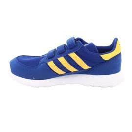 Adidas Originals Forest Grove Cf Jr CG6804 blue yellow 2