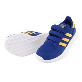 Adidas Originals Forest Grove Cf Jr CG6804 blue yellow 4